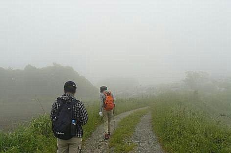 霧の平尾台へ♪