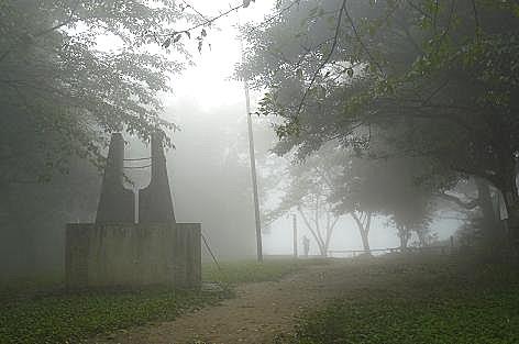 霧の山頂♪