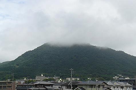 霧の城山♪