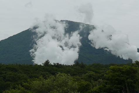 日本最大の地熱発電♪