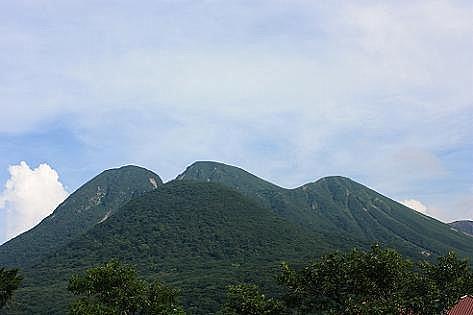 三俣山と指山が見える♪