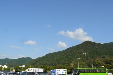 金立山が見える♪