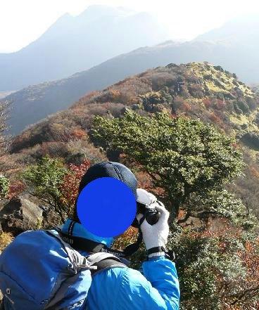 三俣山も見える♪