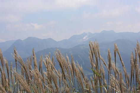 三俣山も見えた♪