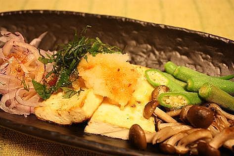 豆腐と野菜のサラダ♪