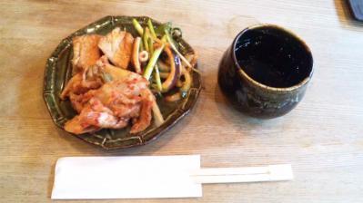 韓国料理セント121119おかず3種