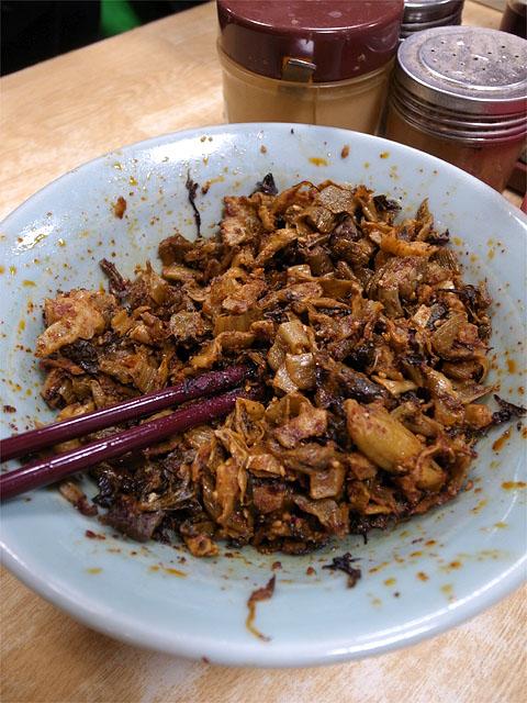 131110三吉ラーメン-辛子高菜