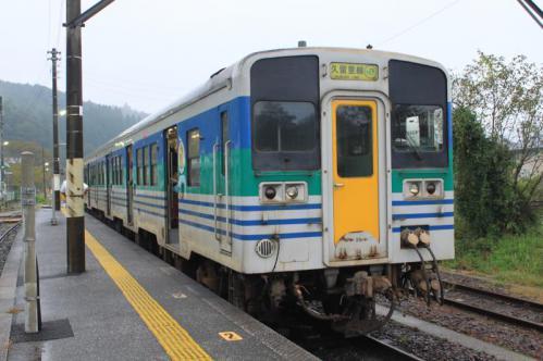 上総亀山駅④