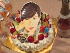 JUN29thBirthday潤い会ケーキ♪
