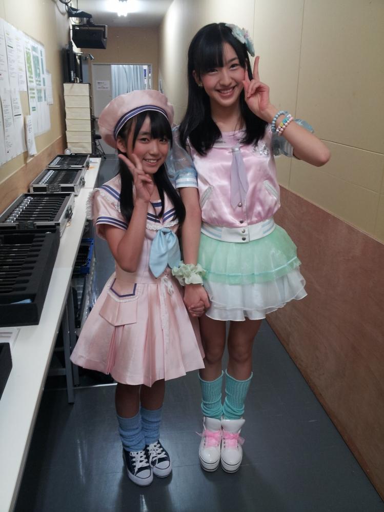 HKT48 矢吹奈子と田島芽瑠