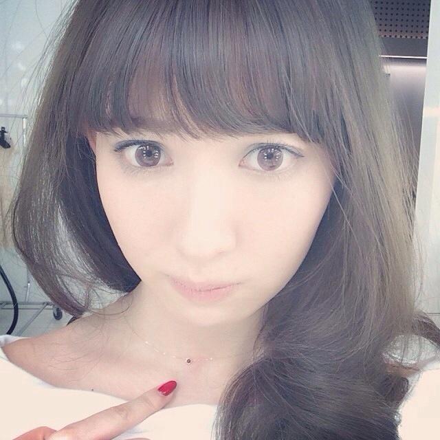 AKB48 小嶋陽菜 カラコン デファインがずれてる
