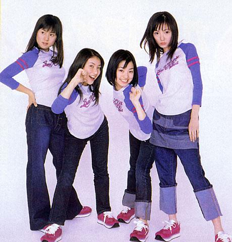 上戸彩 アイドルグループ、Z-1の頃