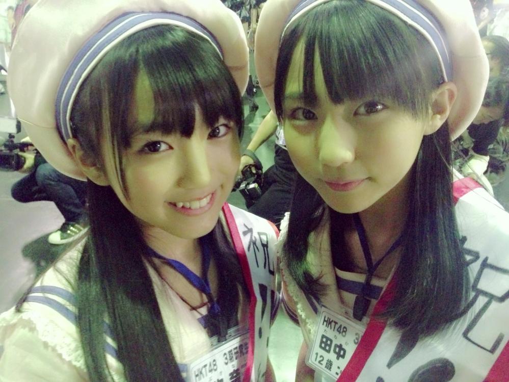 矢吹奈子 田中美久 HKT48