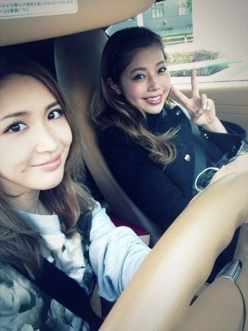 紗栄子と住谷杏奈