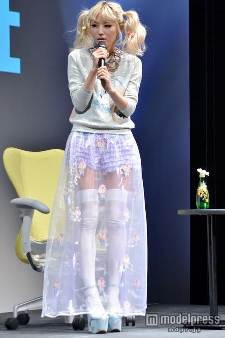 WWDジャパン ファッション カレッジに参加した若槻千夏