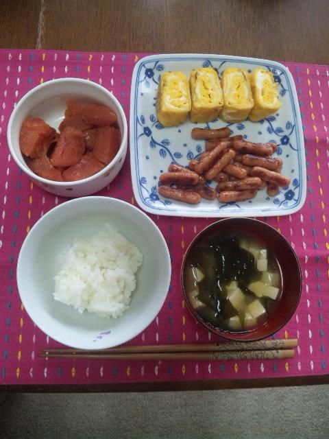 Berryz工房・清水佐紀さんの朝食