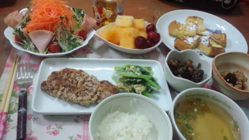 前田敦子の朝食