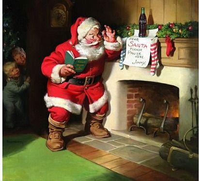 ローラがパクった疑惑のコカ・コーラの絵 クリスマス