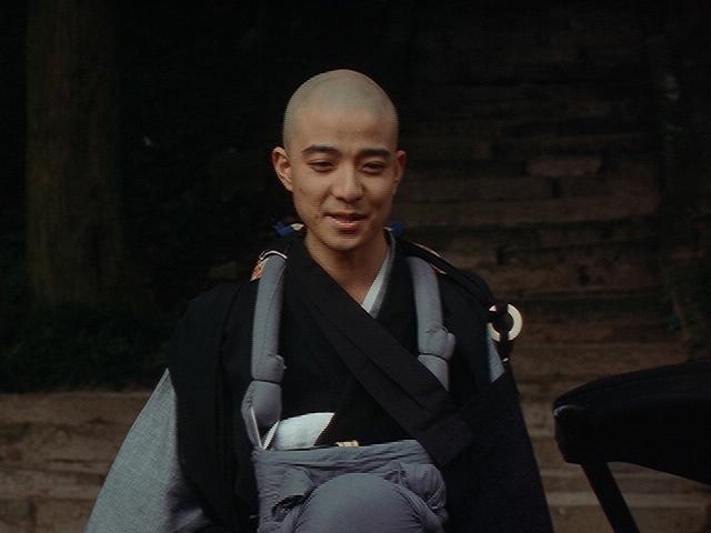 映画「ファンシィダンス」に出演した彦麻呂