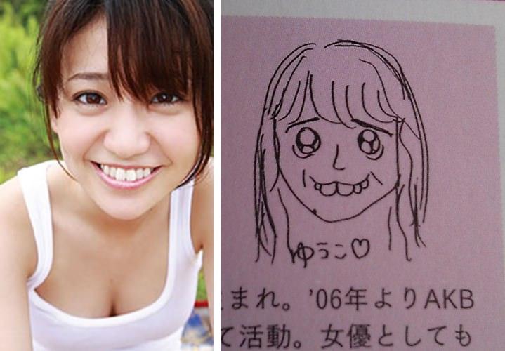 小嶋陽菜の描いた大島優子