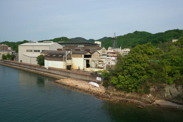 ⑩造船報国隊職場「松浦工場」跡地