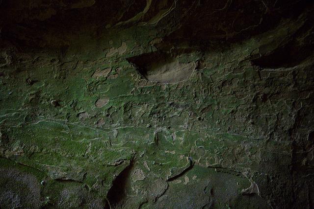 ⑪地下工場天井