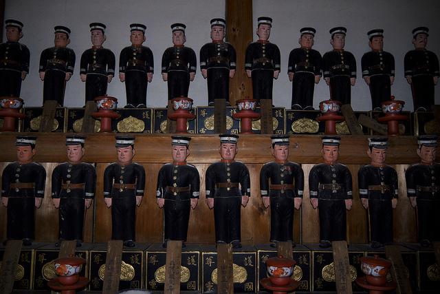 ⑬焼津北 常昌院日露戦役戦死者の像