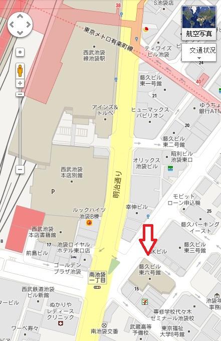 ジュンク堂地図
