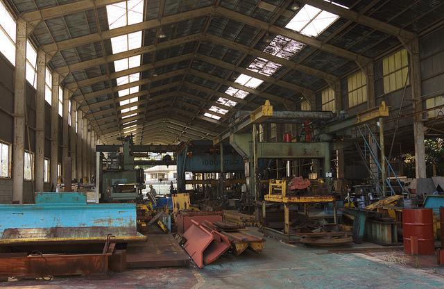 ④K鉄工場