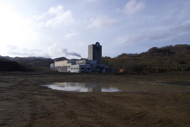 ⑤歌志内市東光空知炭礦立て坑