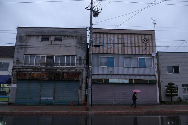 ①歌志内市街