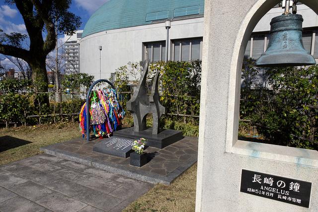 ②平和祈念碑長崎鐘