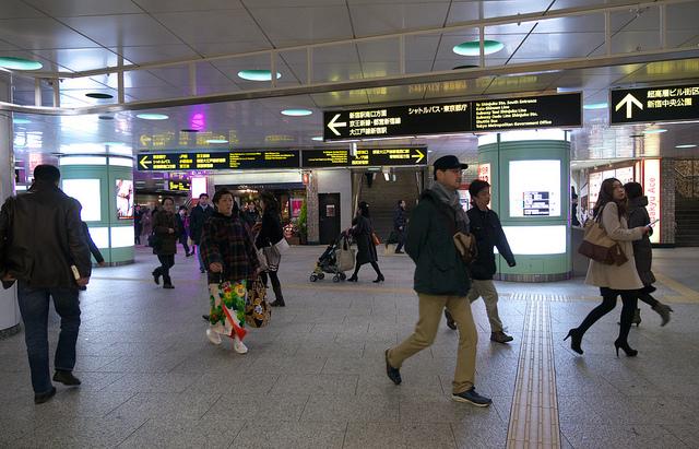 ⑫-2丸の内線新宿駅