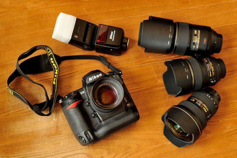 D3 & Nikkor lenses