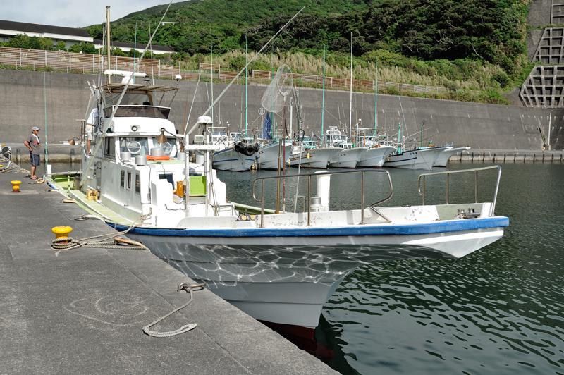 八丈島・赤間さんの船