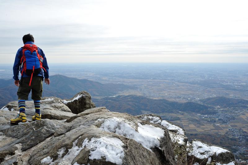 女体山の山頂