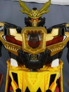トランスフォーマーGo! トイザらス限定版 ケンザン黒武者ver.で参乗合体011(1)