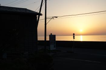 夕陽その1