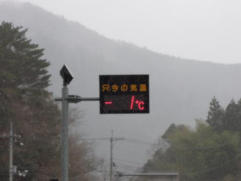 道端の温度計