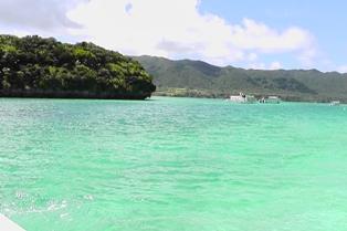 2012_07川平湾グラスボート1