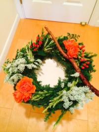 2014.12.3クリスマスお花