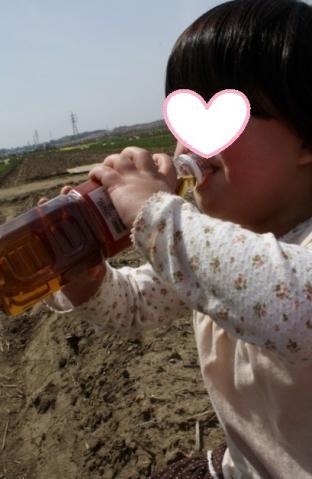 のどが渇いた!
