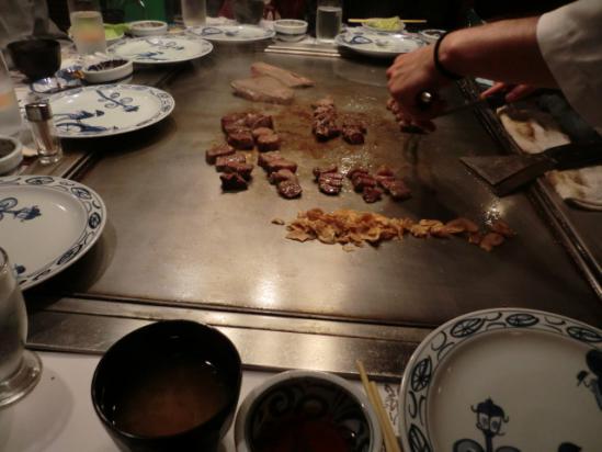 神戸牛 いい焼き色です