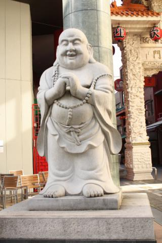 南京町 石像