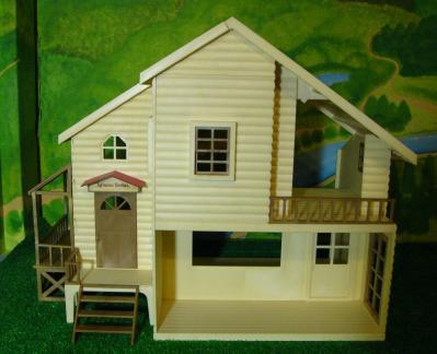 赤い屋根の大きなお家1
