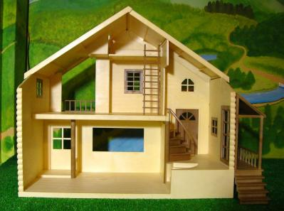 赤い屋根の大きなお家2