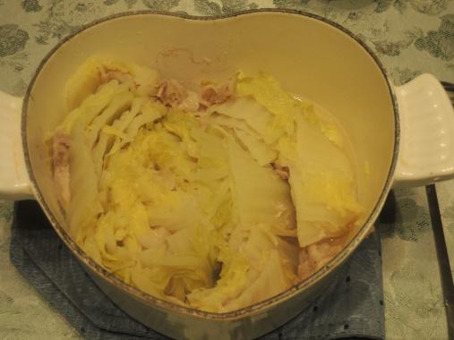1月9日 豚バラ白菜