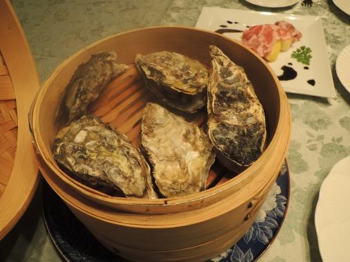 1月20日 蒸し牡蠣