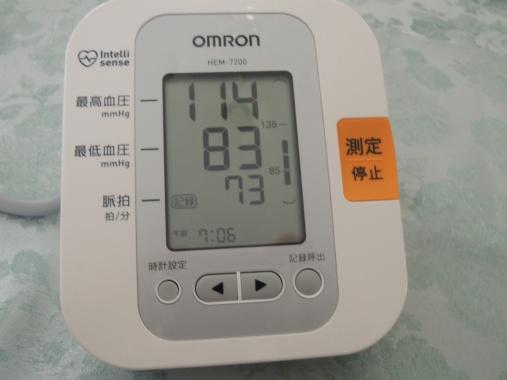 1月23日 血圧2