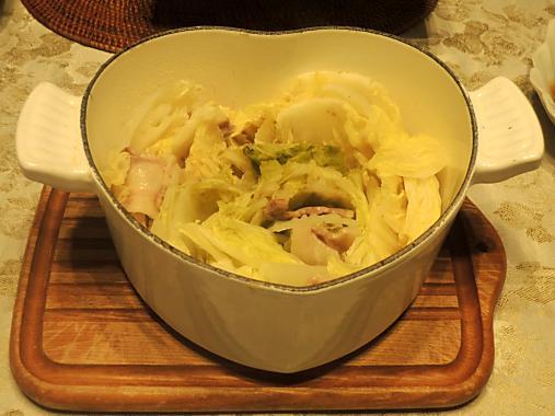 12月18日 白菜と豚バラ